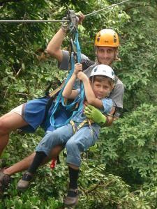 Tour de canopy en Bahía Drake, Costa Rica